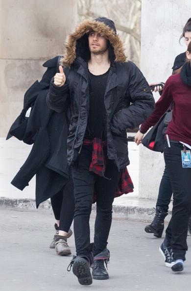 Jared Leto Sighting In Paris
